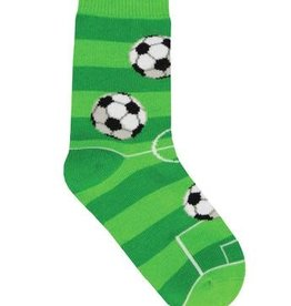 SockSmith Goal For It green medium