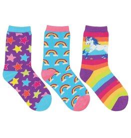 SockSmith Mini Sparkle Party rainbow 6-12m