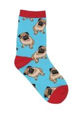 SockSmith Pug blue small