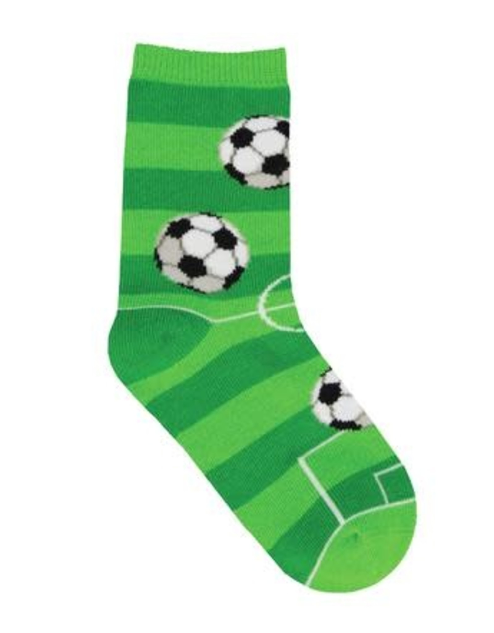 SockSmith Goal For It green small