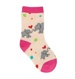 SockSmith Mini Unforgettable Lo pink 6-12m
