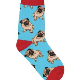 SockSmith Pug blue large