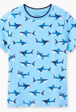 Hatley Shark Frenzy Graphic Tee