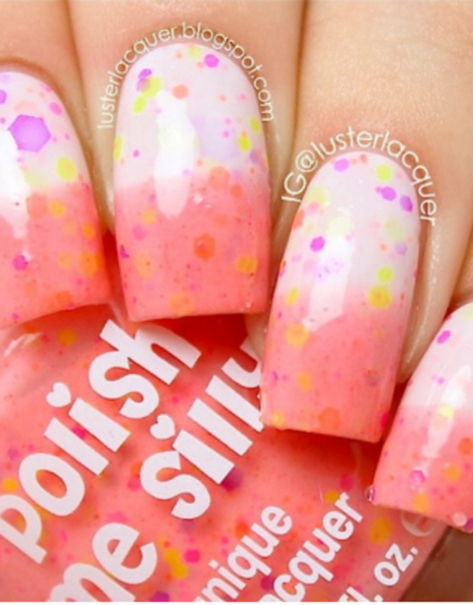 Polish Me Silly Thermal Creamsicle, Thermal