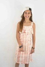 Area Code Alicia  Sundress with Straps and Ruffle