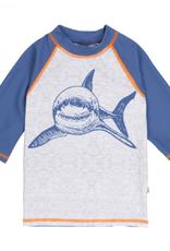 Deux Par Deux Shark Rash Guard