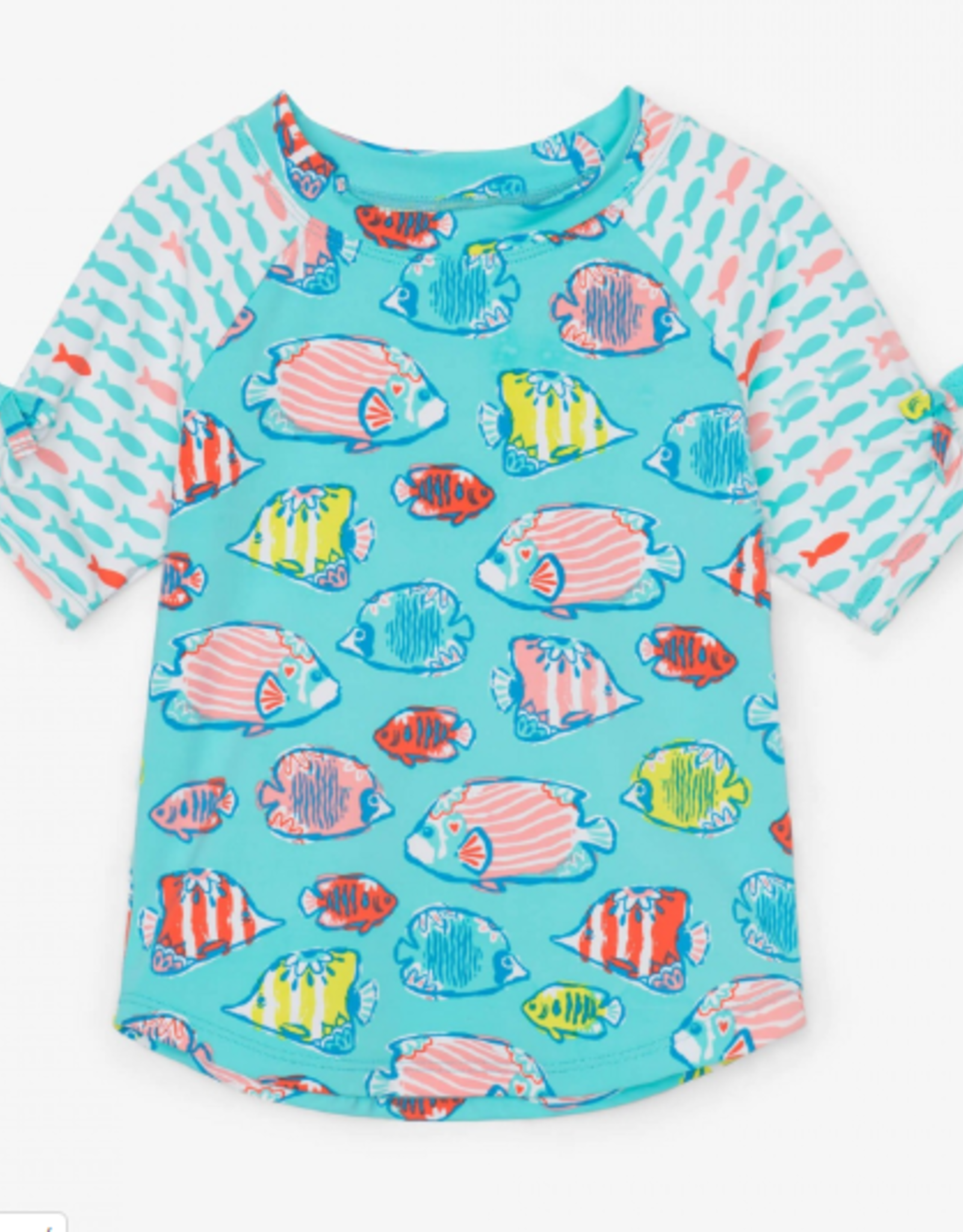 Hatley Colorful Fishies SS Rashguard