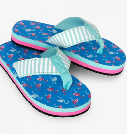 Hatley Fancy Flamingos Flip Flops