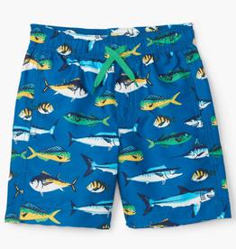 Hatley Game Fish Swim Trunks