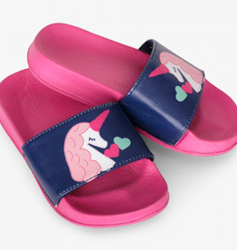 Hatley Mystical Unicorns Slide On Sandals