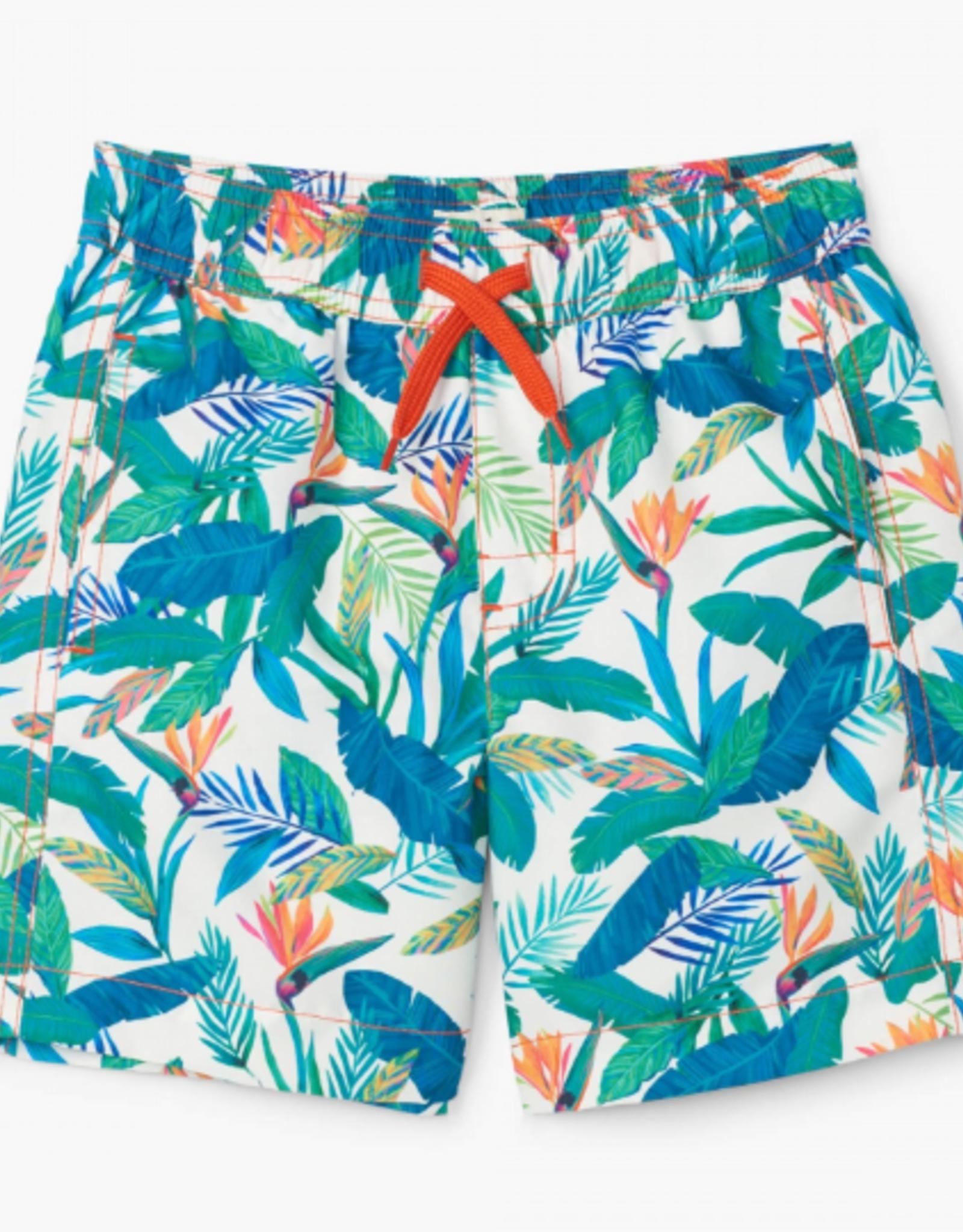 Hatley Tropical Paradise Swim Trunks