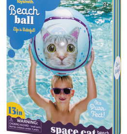 Toysmith Space Cat Beach Ball