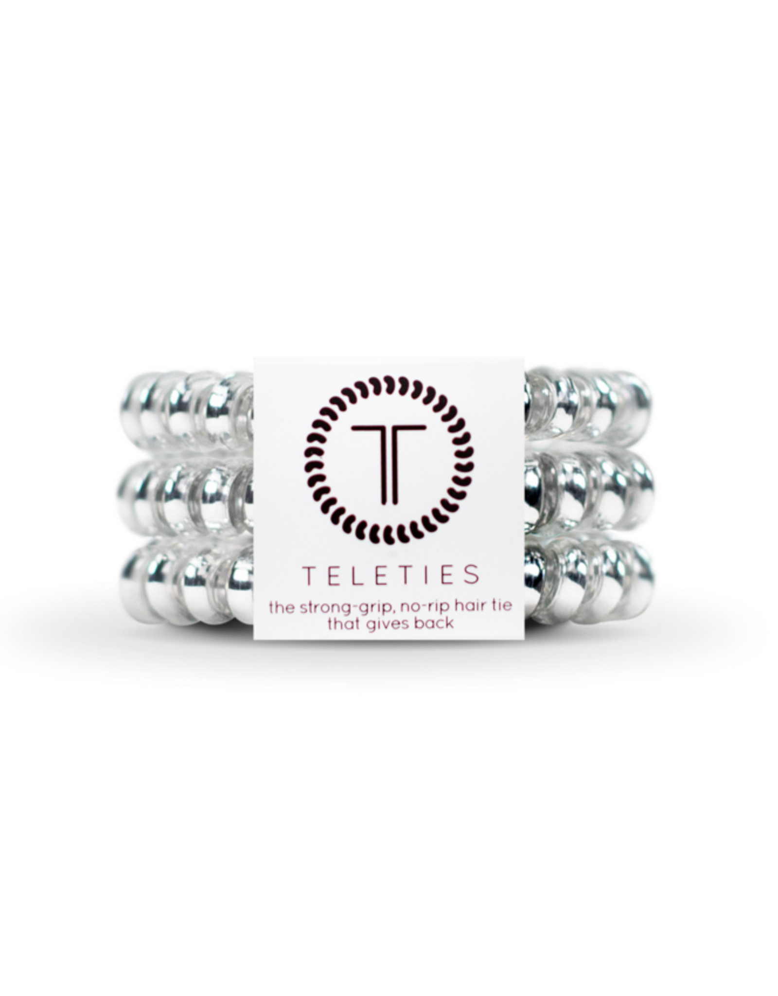 Teleties Electric Silver Small