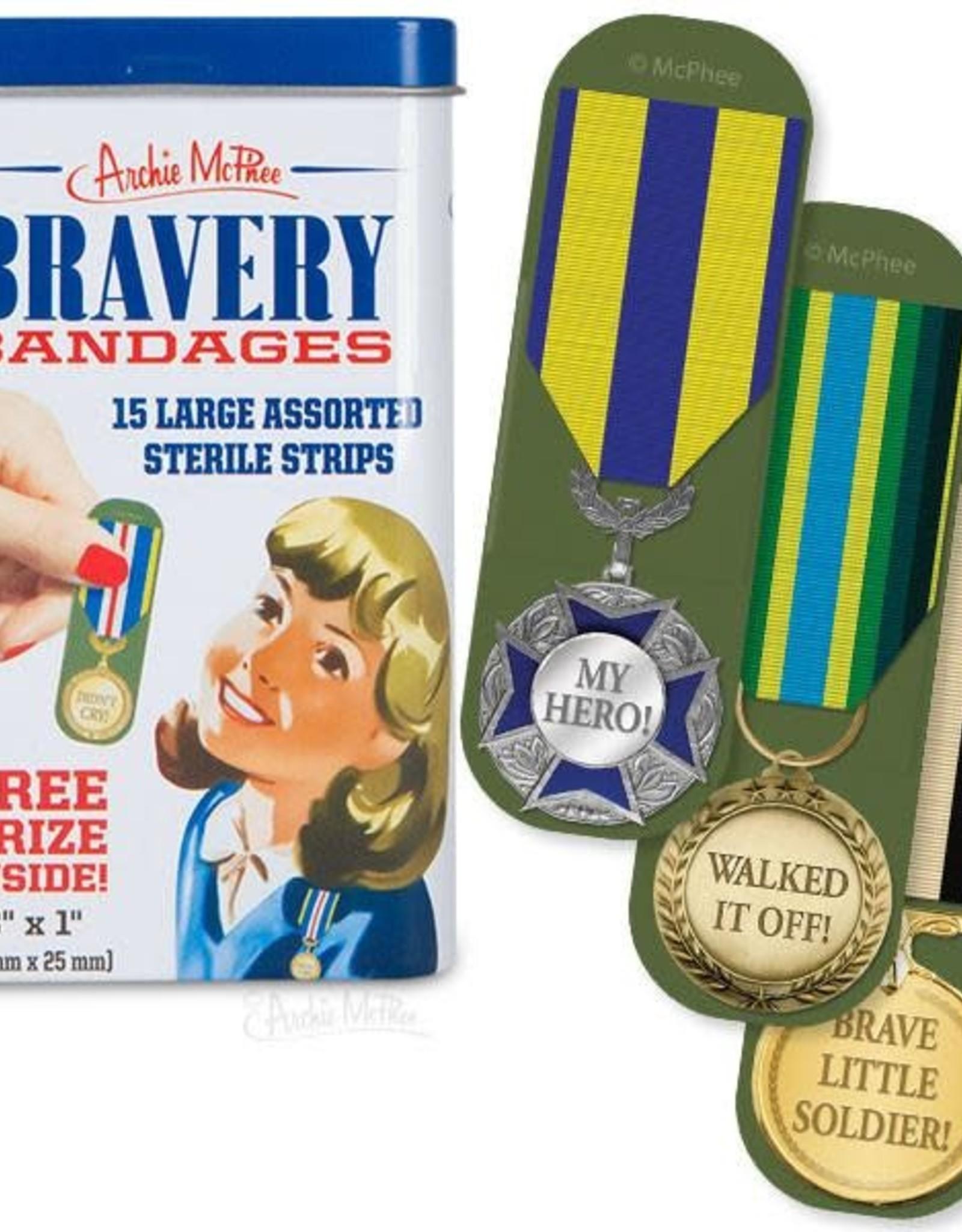 Archie McPhee Bandage Bravery