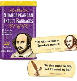 Archie McPhee Bandage Shakespearean Insult