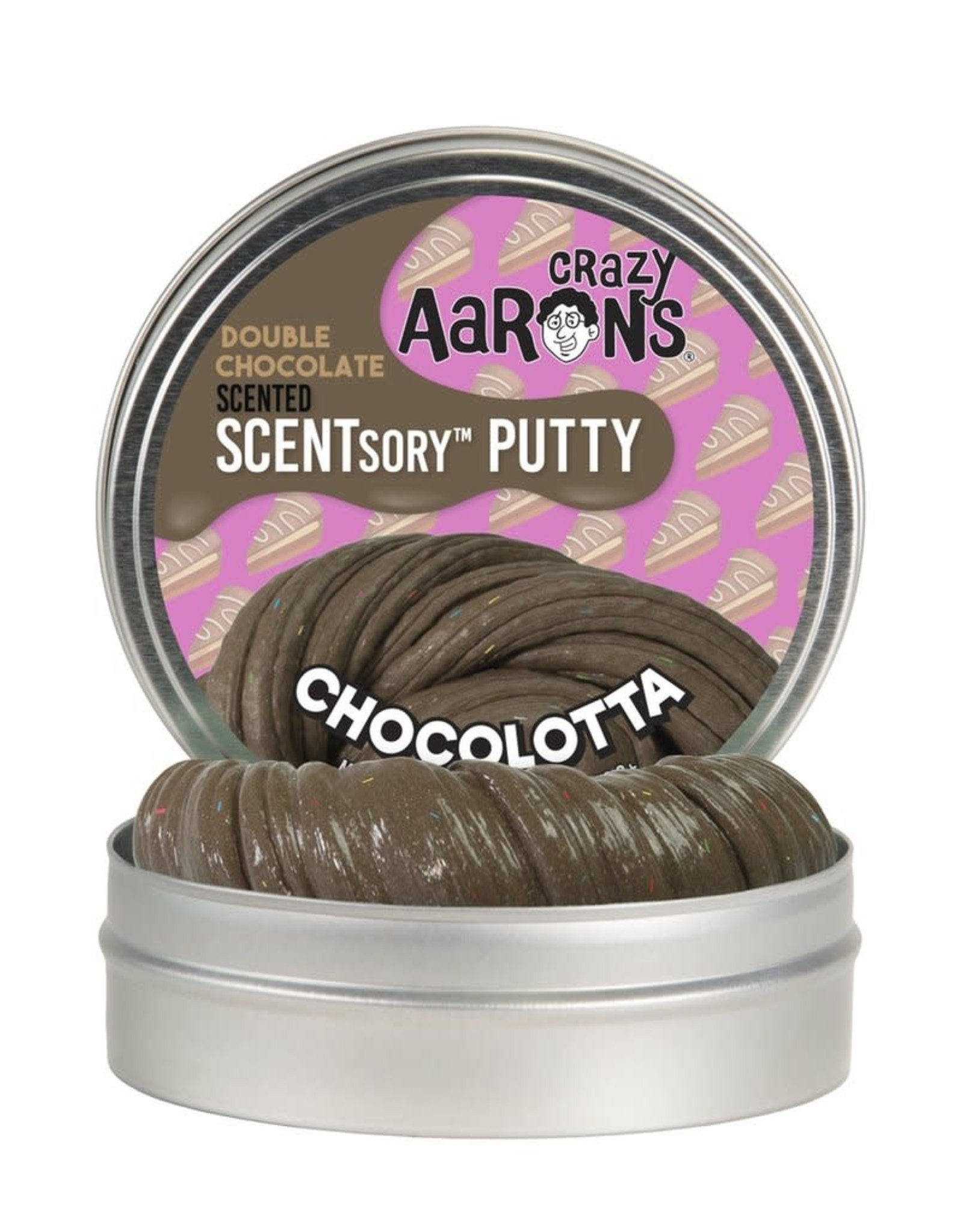 Crazy Aaron's Scentsory Putty Chocolotta 2.75""
