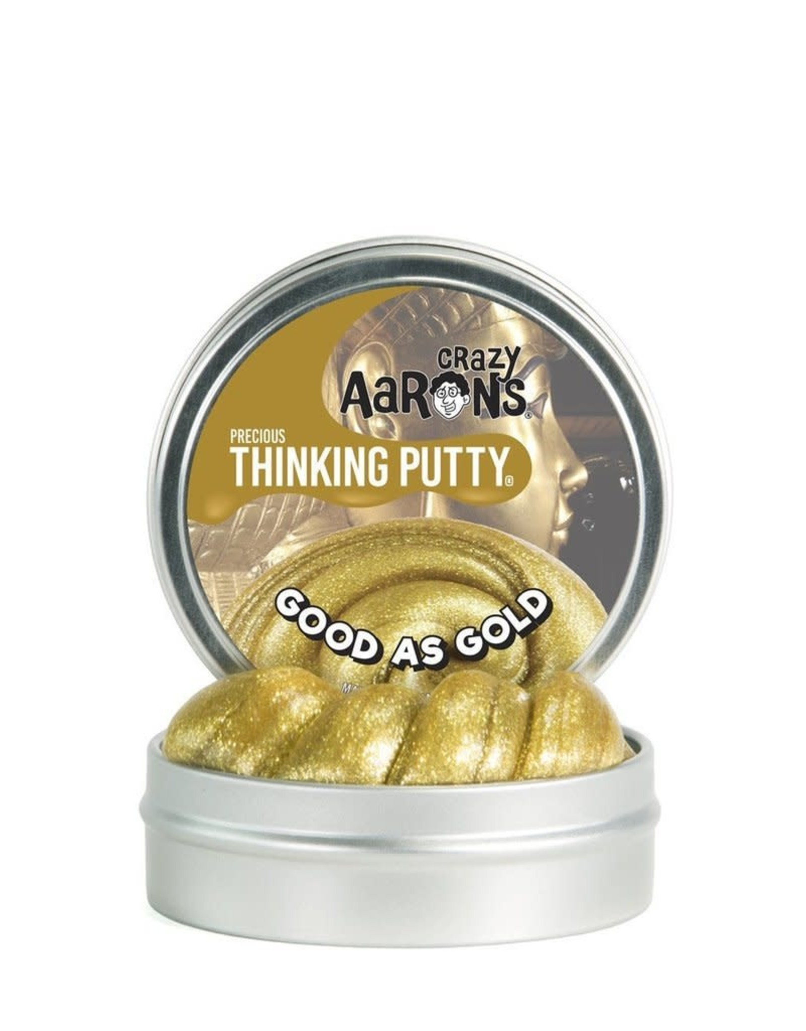 """Crazy Aaron's Thinking Putty Good as Gold Large 3"""""""