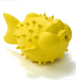 Begin Again Bathtub Pals Yellow Blow Fish