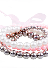 Great Pretenders Pearly to Wed Bracelet Set, 4pcs