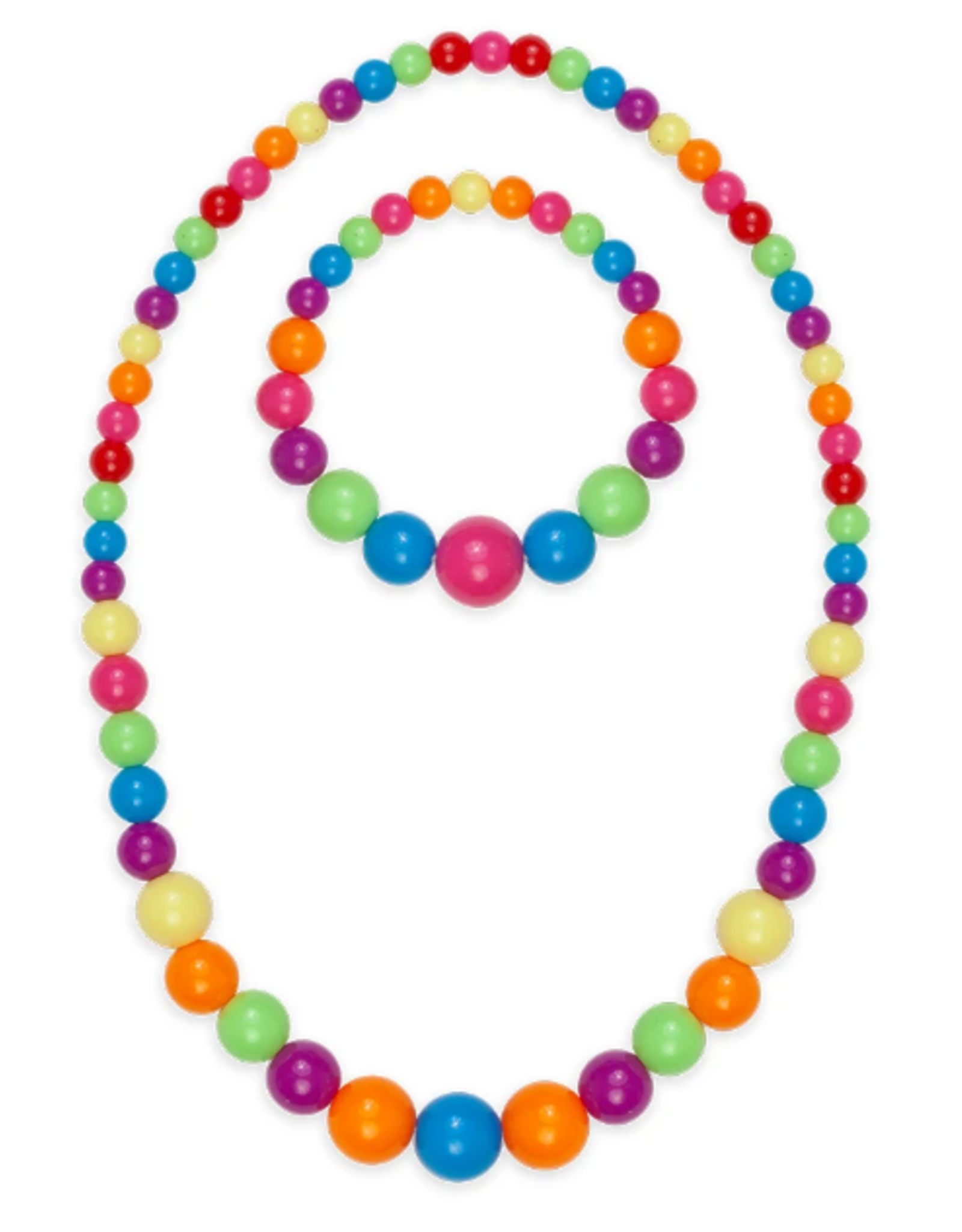 Great Pretenders Play Date Necklace & Bracelet Set