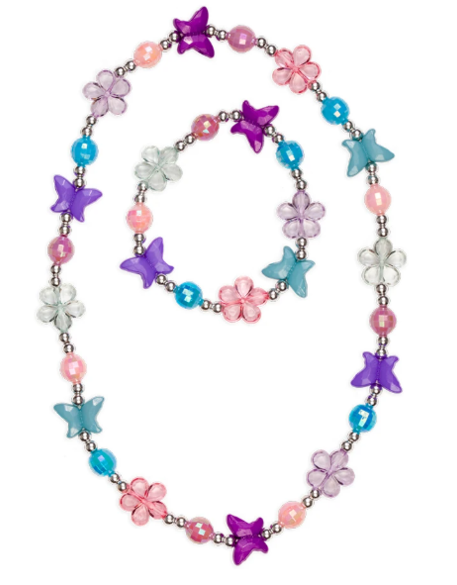 Great Pretenders Flutter Me Necklace and Bracelet Set