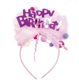 Great Pretenders Happy Birthday Headband