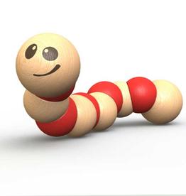 Begin Again Red Earthworm Toy