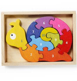 Begin Again Snail Puzzle