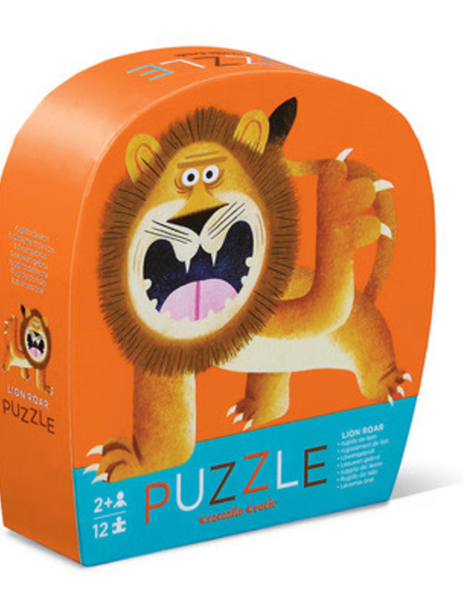 Crocodile Creek Puzzle Lion Roar 12pc