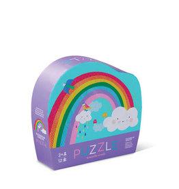 Crocodile Creek Puzzle Rainbow 12 pc mini