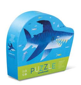 Crocodile Creek Puzzle Shark City 12pc