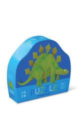 Crocodile Creek Puzzle Stompin' Stego 12 pc mini