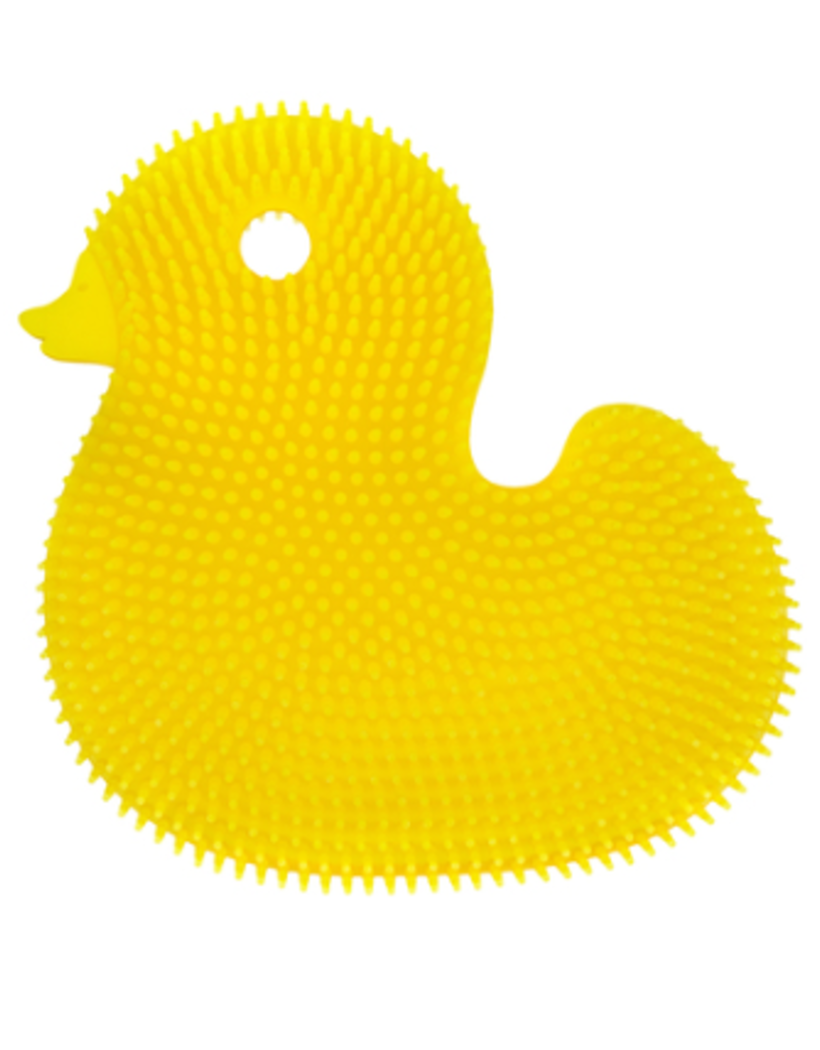 Innobaby Silicone Bath Scrub Duck, yellow
