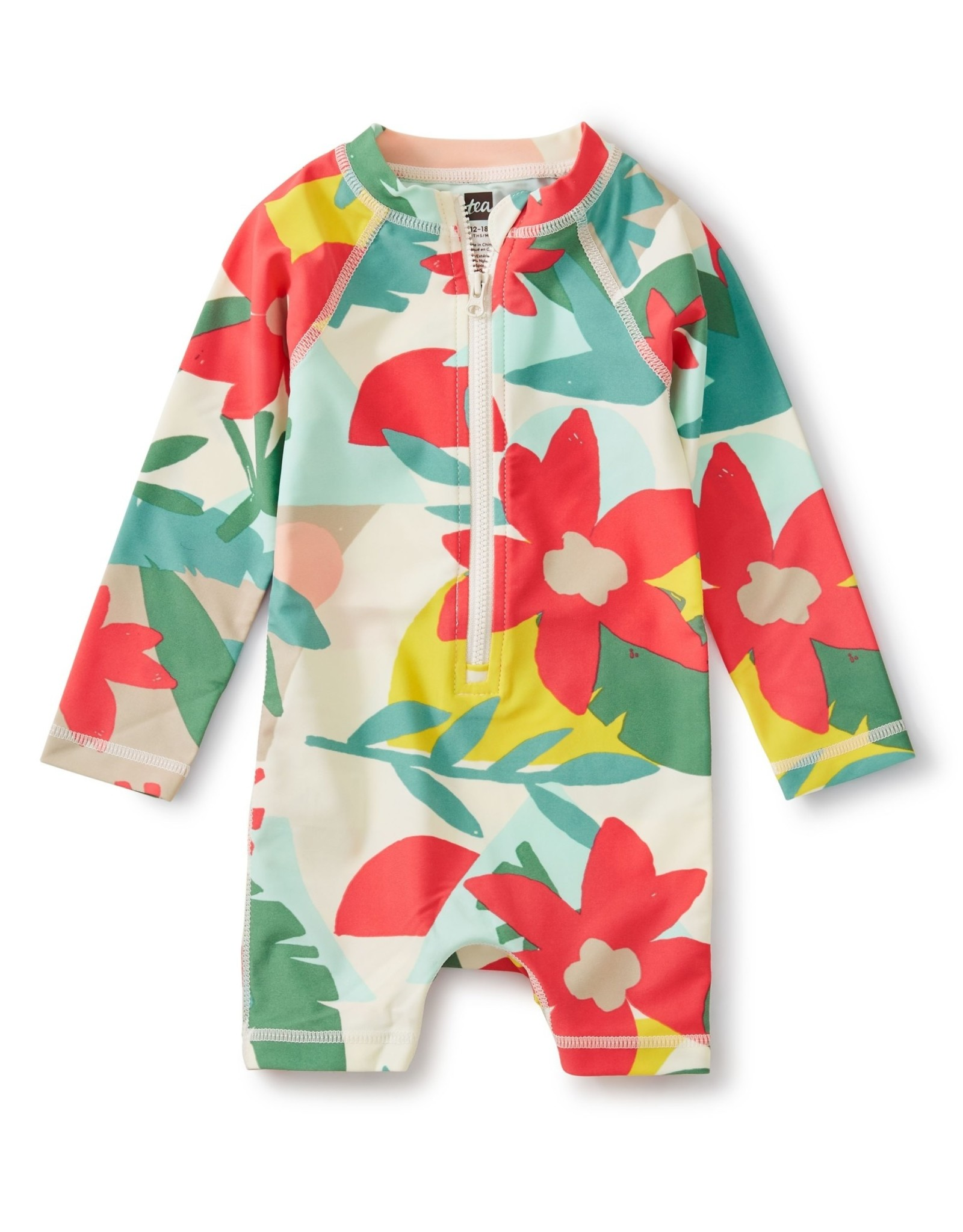Tea Baby Rash Guard One-Piece