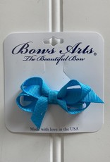 "Bows Arts Infant Classic Bow 2"" Grippie Clippie - Turquoise"