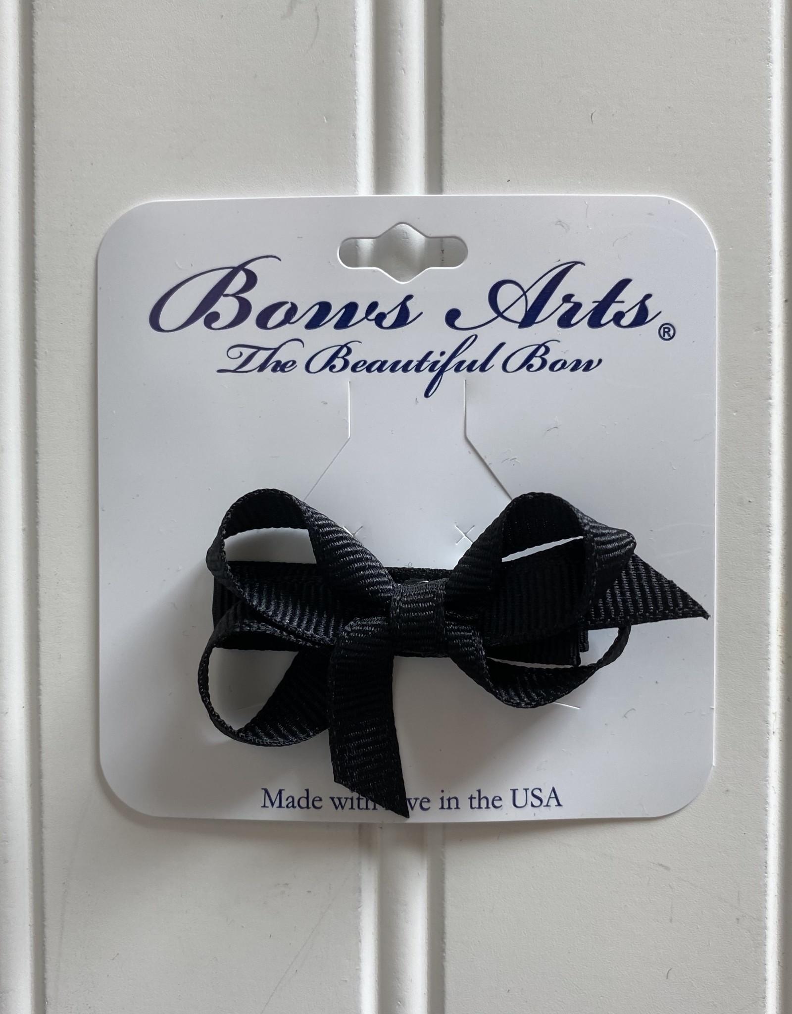 "Bows Arts Infant Classic Bow 2"" Grippie Clippie - Black"
