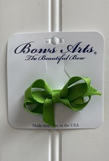 "Bows Arts Infant Classic Bow 2"" Grippie Clippie - Apple"