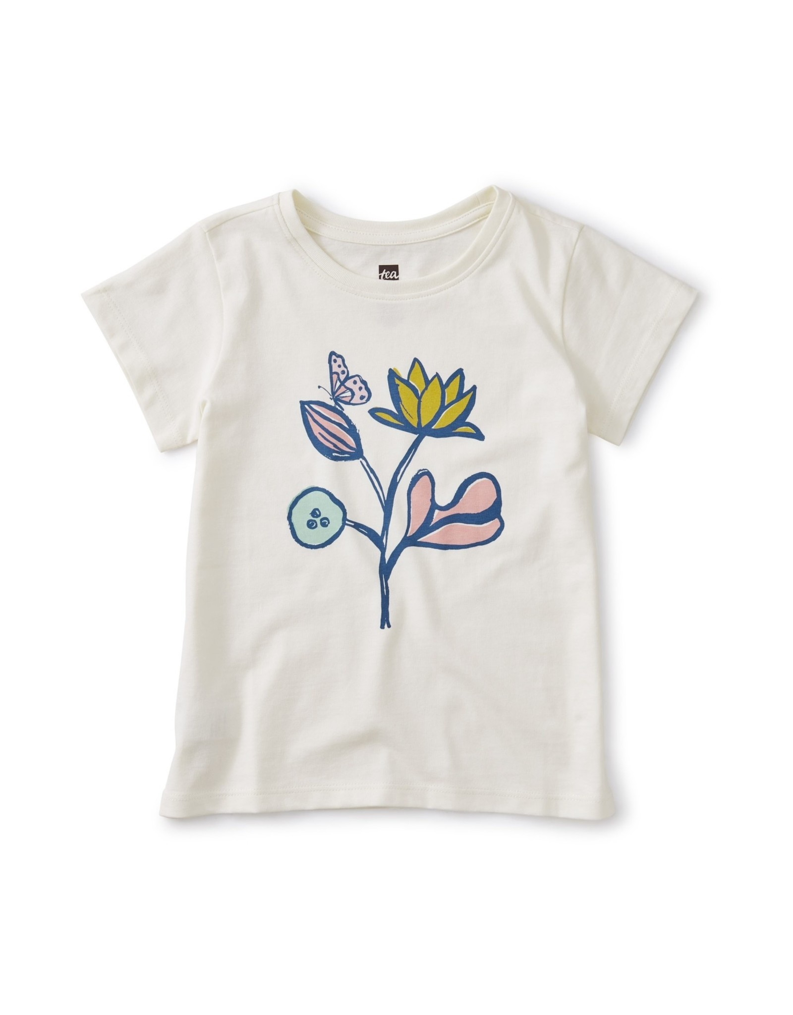 Tea Flower Power Graphic Tee 2SP20