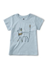 Tea Metallic Cattitude Tee 2SP20