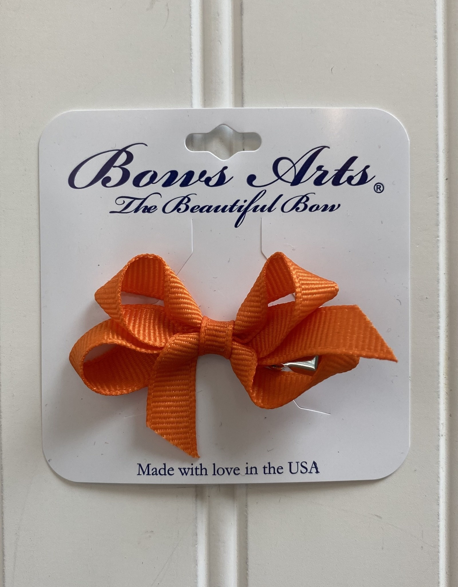 "Bows Arts Infant Classic Bow 2""  - Orange"
