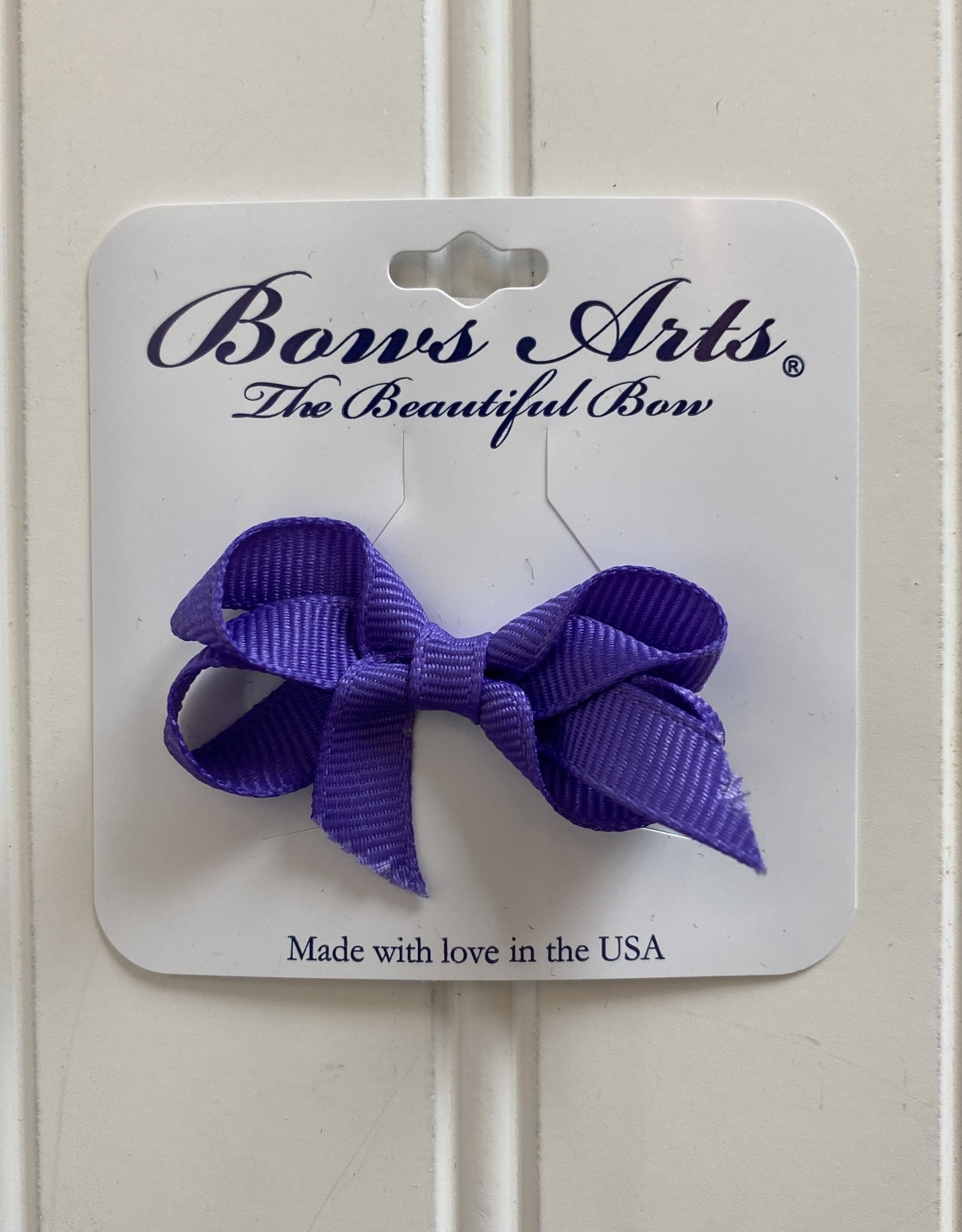 "Bows Arts Infant Classic Bow 2""  - Dk Purple"