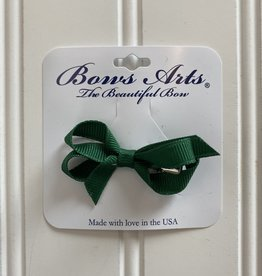 "Bows Arts Infant Classic Bow 2""  - Dk Green"