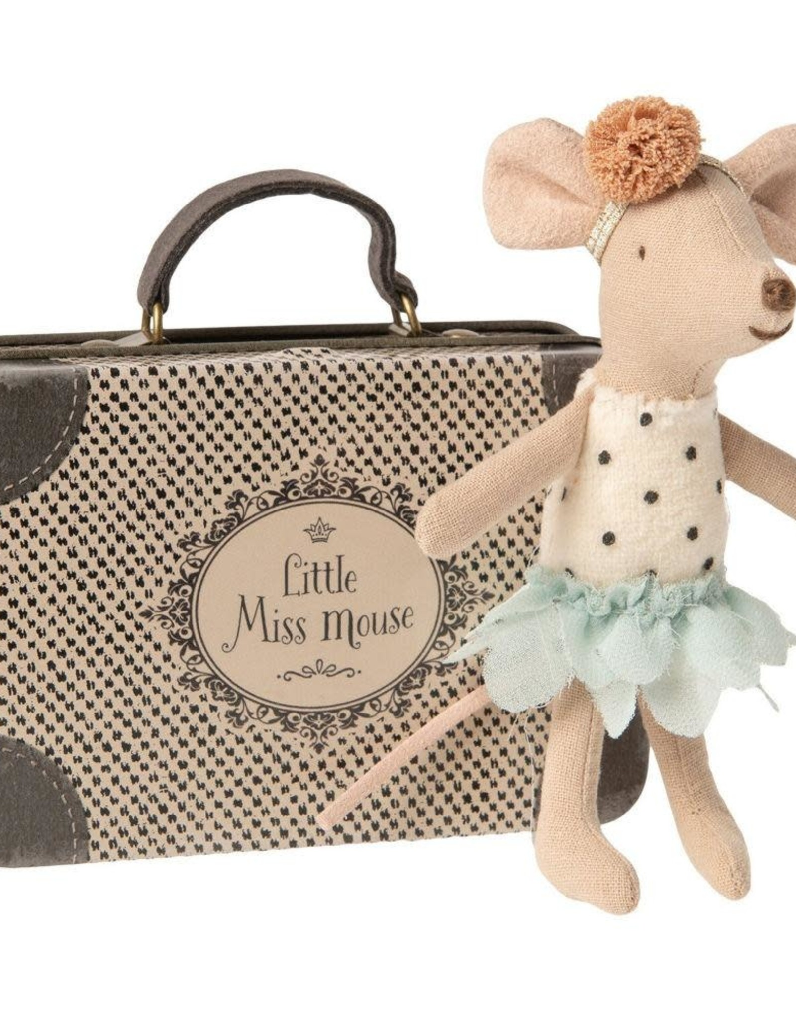Maileg Little Miss Mouse in Suitcase, Little Sister