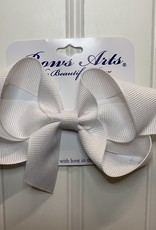 "Bows Arts Small Classic Bow 4"" - White"