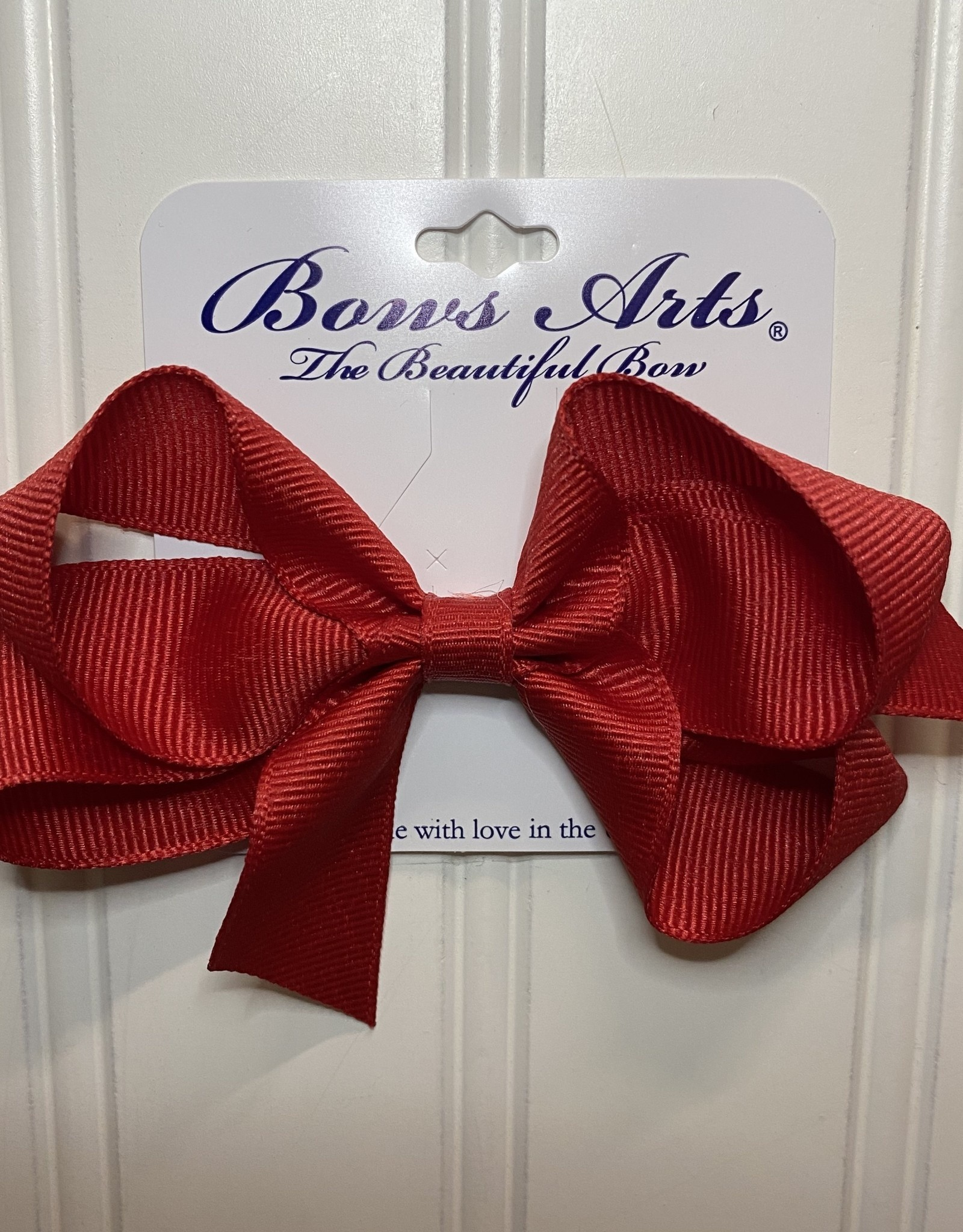 "Bows Arts Small Classic Bow 4"" - Red"
