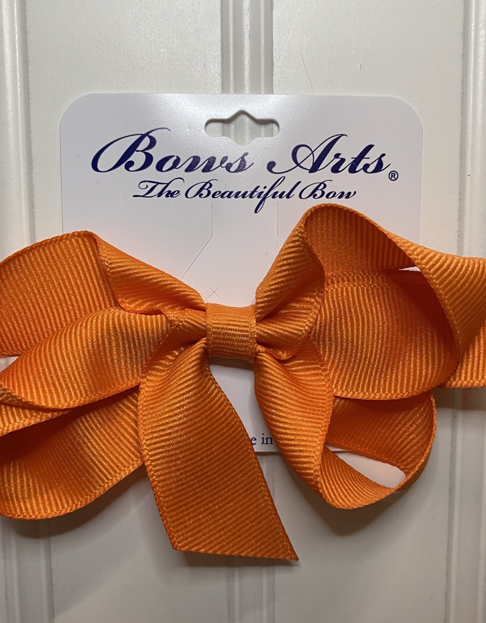 "Bows Arts Small Classic Bow 4"" - Torrid Orange"