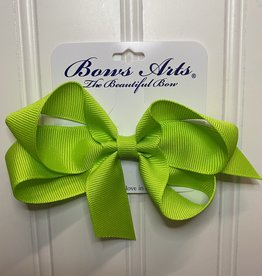 """Bows Arts Small Classic Bow 4"""" - New Chartreuse"""