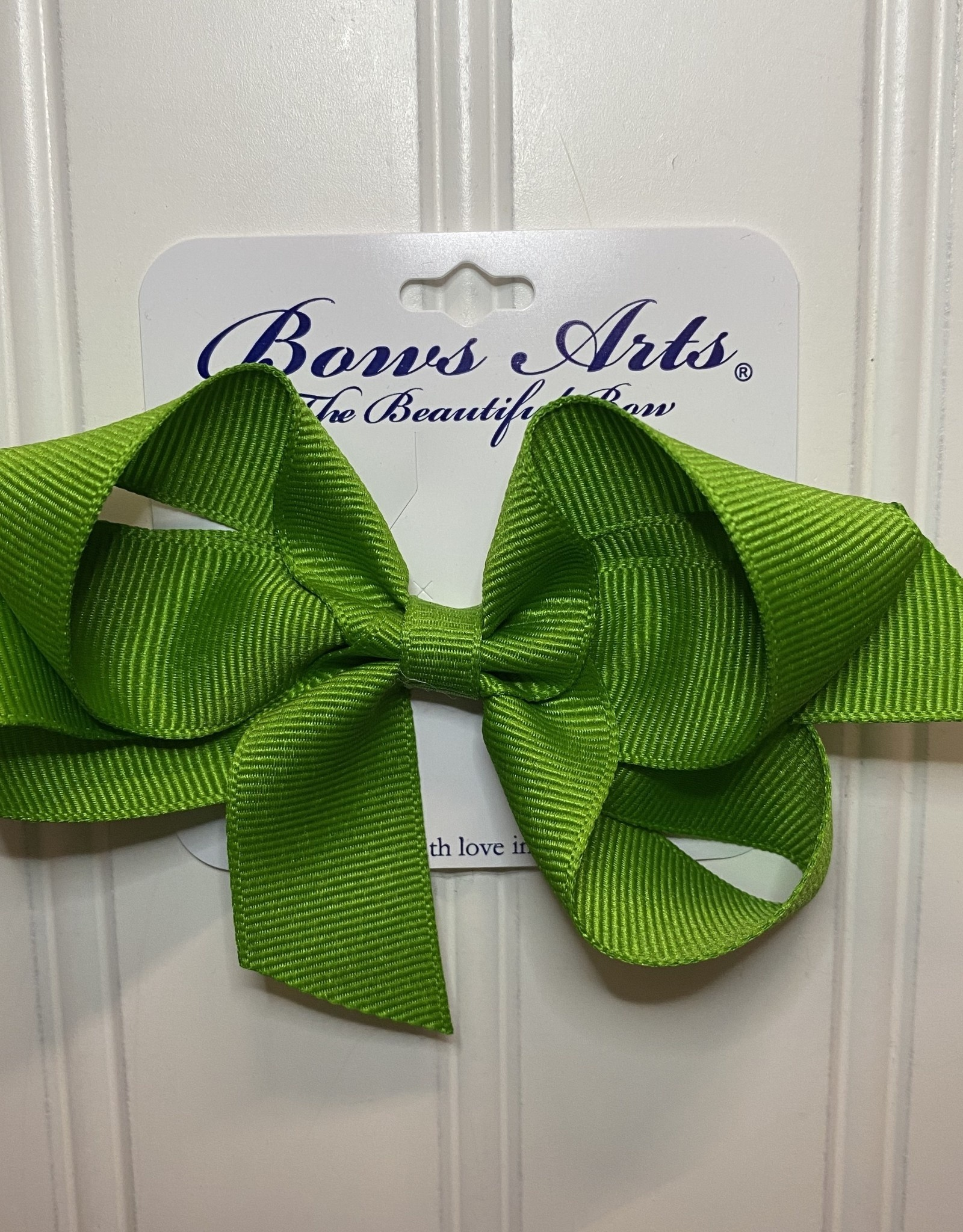 "Bows Arts Small Classic Bow 4"" - Apple"