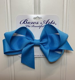 """Bows Arts Small Classic Bow 4"""" - Turquoise"""