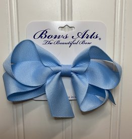 """Bows Arts Small Classic Bow 4"""" - Light Blue"""